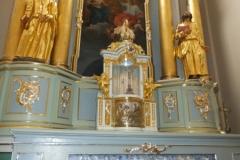 2013-12-11 - Odnowienie figur św. apostołów Piotra i Pawła