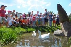 2014-07-09 - Półkolonie w pielgrzymce po Podlasiu