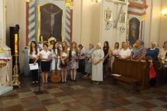 2016-08-28 - Powitanie nowej siostry organistki
