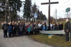 2016-11-20 - Poświęcenie przydrożnego krzyża