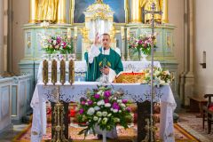 2019-08-25 - Powitanie ks. wikariusza Marcina Karpiesiuka