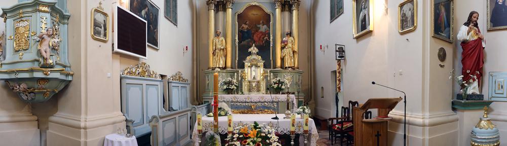 Parafia pw. Trójcy Przenajświętszej w Rudce