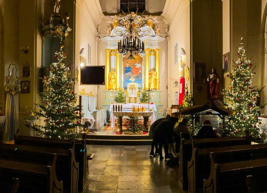 Kościół parafialny w Rudce, Boże Narodzenie 2020